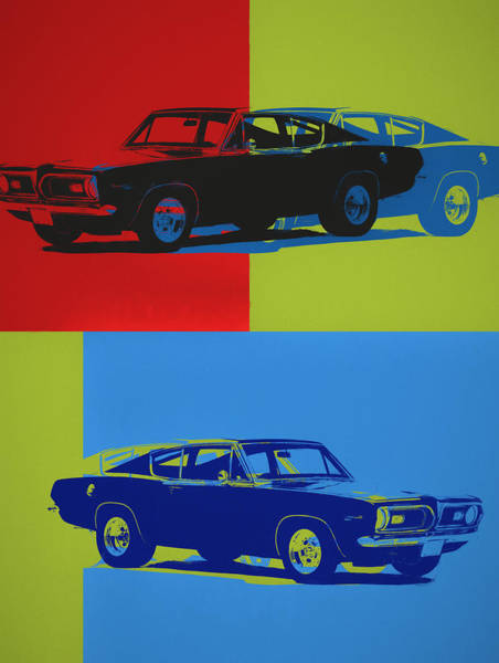 Painting - Barracuda Pop Art by Dan Sproul