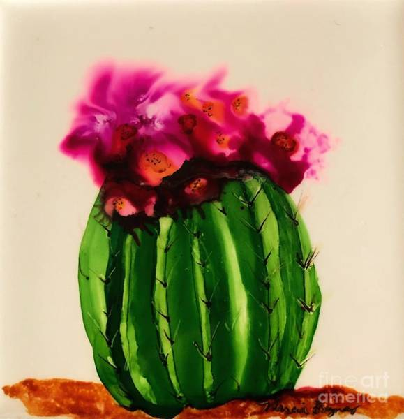 Painting - Barrel Cactus  by Marcia Breznay