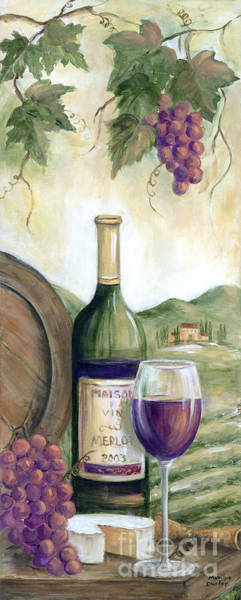 Wall Art - Painting - Barrel Of Red by Marilyn Dunlap