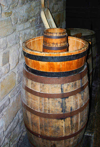 Photograph - Barrels by Anthony Jones
