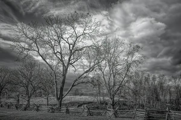 Photograph - Barren Fields by John M Bailey