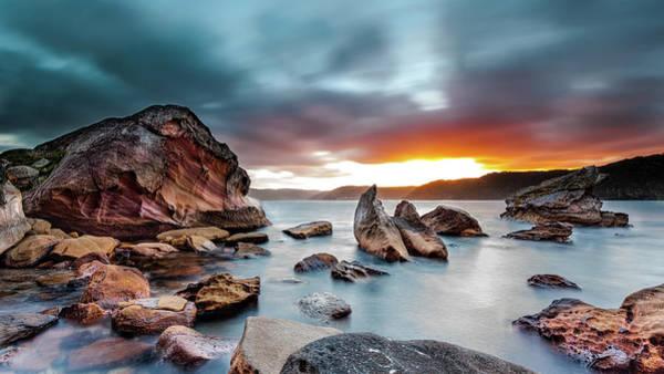 Headlands Photograph - Barrenjoey Headland by John Clark Photo