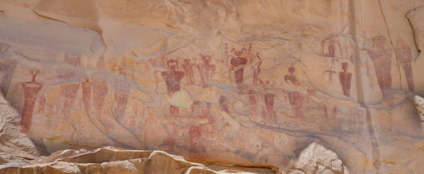 Photograph - Barrier Canyon Rock Art At Sego Canyon by Kyle Lee