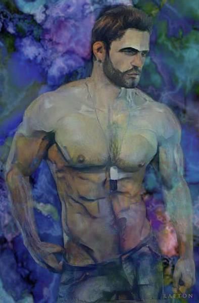 Digital Art - Barry by Richard Laeton