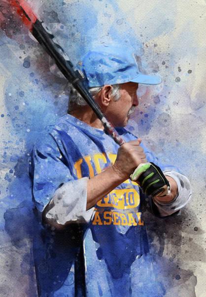 Softball Photograph - Barry by Ron Regalado