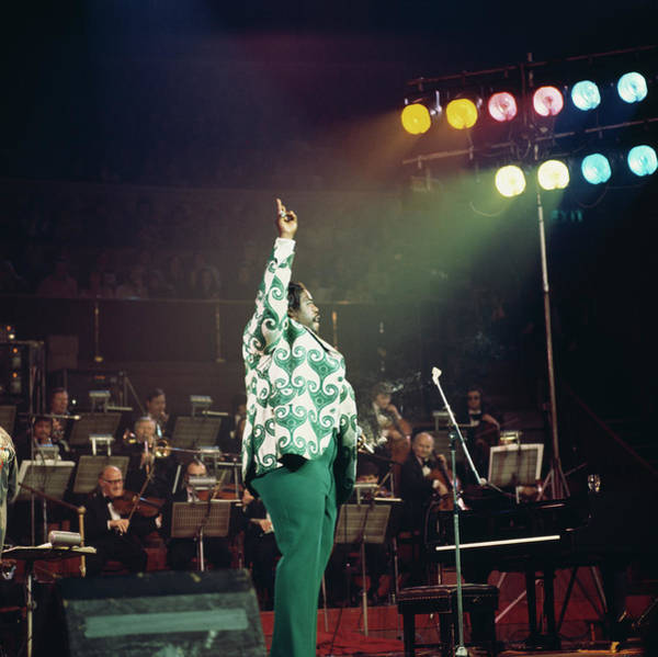 Soul Music Photograph - Barry White At The Albert Hall by David Redfern