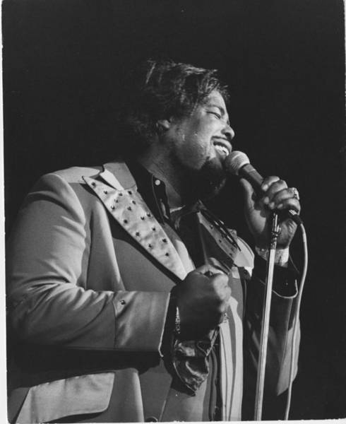 Soul Music Photograph - Barry White by David Redfern