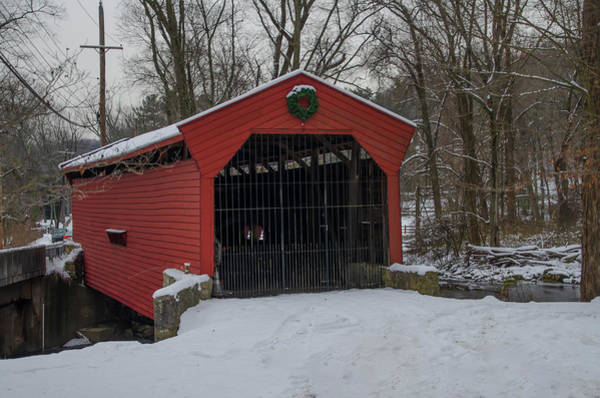Photograph - Bartram Covered Bridge - Newtown Square Pa by Bill Cannon