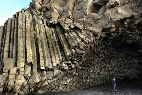 Photograph - Basalt Columns Cave On Reynisfjara Beach by RicardMN Photography