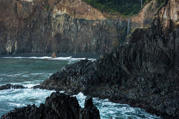 Photograph - Basalt Cove by Robert Potts