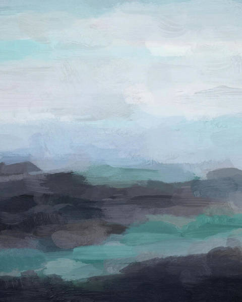 Painting - Basaltic Shore by Rachel Elise