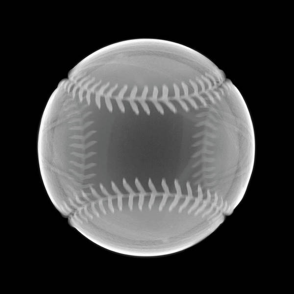 Photograph - Baseball by Nick Veasey