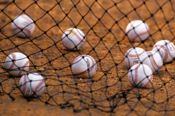 Baseballs Art Print