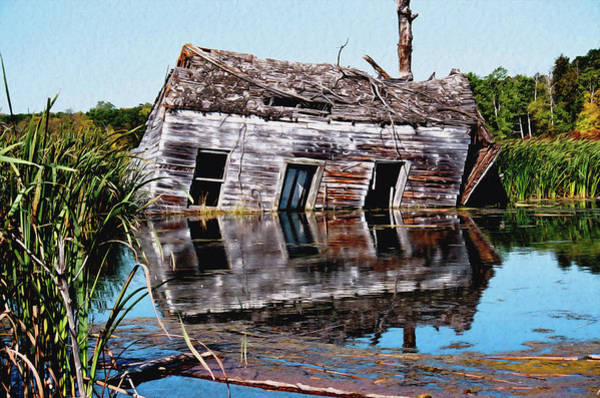 Photograph - Basement Flood  by David Matthews