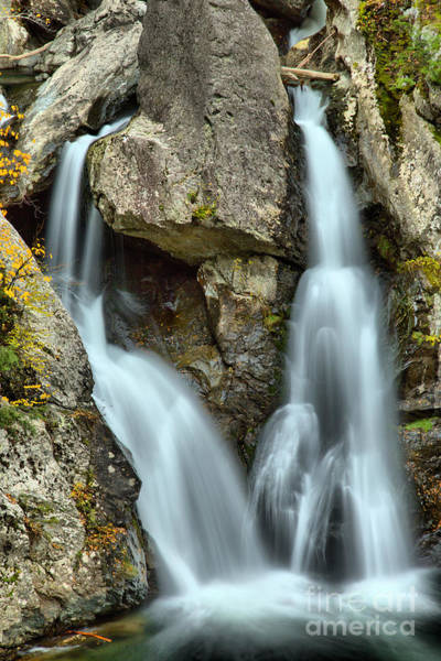 Photograph - Bash Bish Falls Double Streams by Adam Jewell