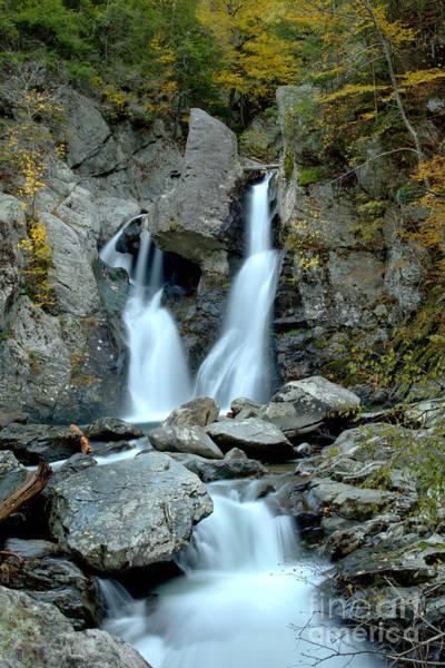 Photograph - Bash Bish Falls Stream by Adam Jewell
