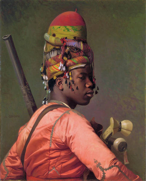 Wall Art - Painting - Bashi-bazouk - Digital Remastered Edition by Jean-Leon Gerome