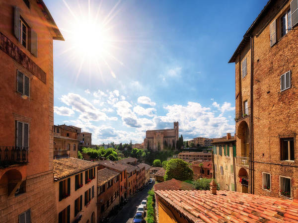 Photograph - Basilica Di San Domenico - Sienna, Italy by Nico Trinkhaus