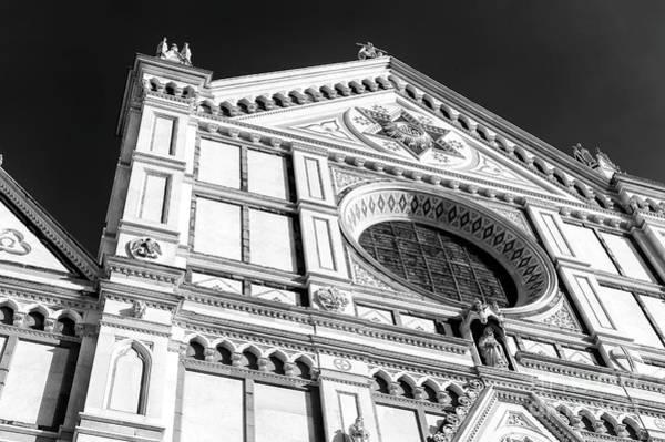 Photograph - Basilica Di Santa Croce Profile Florene by John Rizzuto