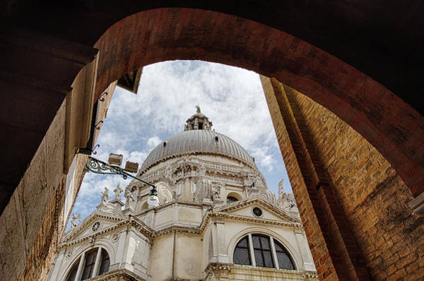 Photograph - Basilica Di Santa Maria Della Salute Venice Italy by Nathan Bush