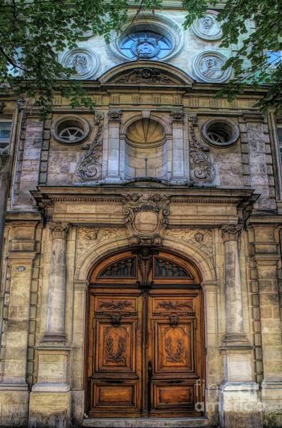 Photograph - Basilica Of Saint Michael  Doorway - Bordeaux by Luther Fine Art