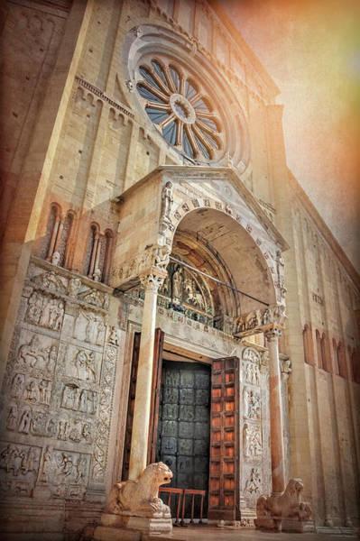 Wall Art - Photograph - Basilica Of San Zeno Verona Italy  by Carol Japp
