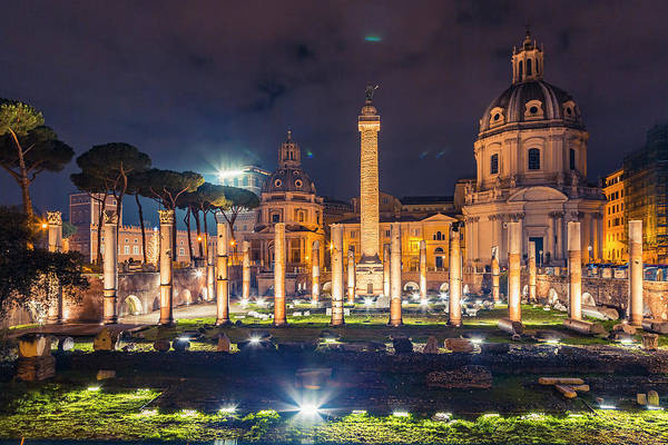 Photograph - Basilica Ulpia by ProPeak Photography