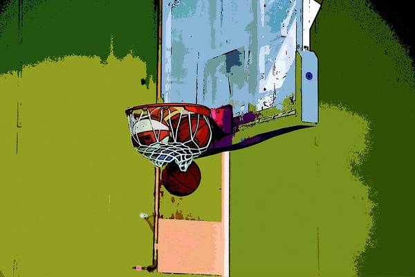 Wall Art - Painting - Basketball by ArtMarketJapan