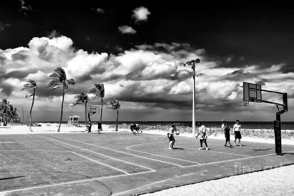 Photograph - Basketball At Fort Lauderdale Beach by John Rizzuto
