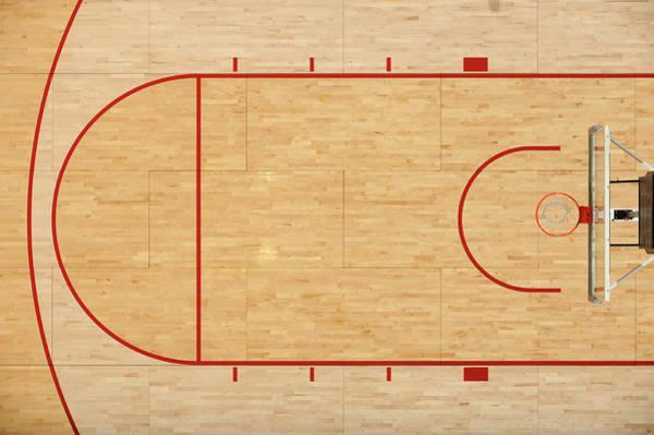 Team Sport Photograph - Basketball Floor by Matt brown
