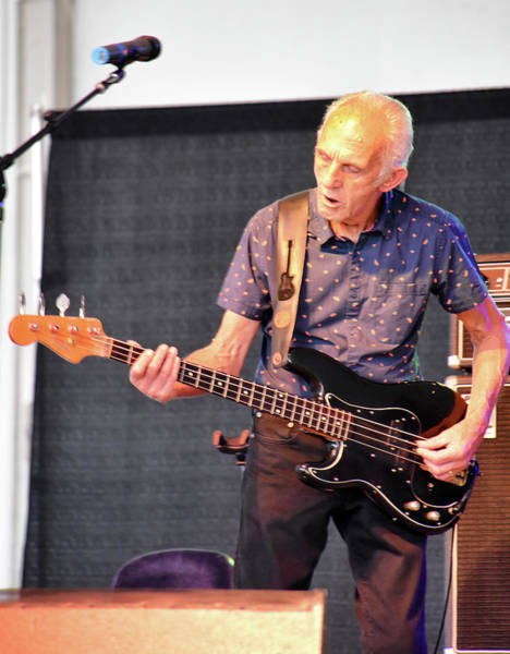 Wall Art - Photograph - Bass Guitar Ten Years After Concert by Mike Martin