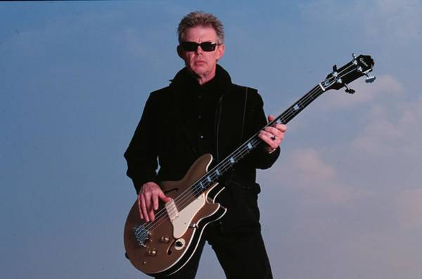Guitarist Photograph - Bass Guitarist Jack Casady Of Jefferson by Jim Steinfeldt