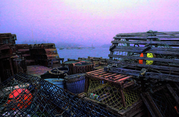 Wall Art - Photograph - Bass Harboring Lobstering by Mike Flynn
