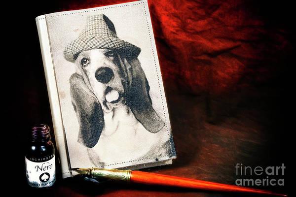 Hats For Sale Photograph - Basset Hound Memoir by John Rizzuto