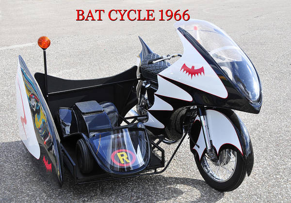 Wall Art - Photograph - Bat Cycle 1966 by David Lee Thompson