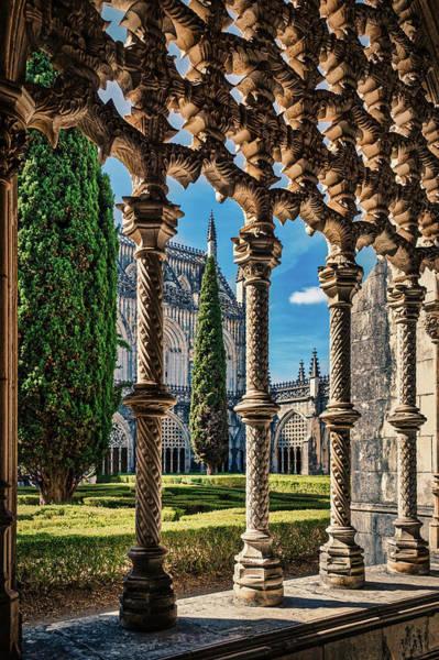 Photograph - Batalha Monastery Royal Cloister - Portugal by Stuart Litoff