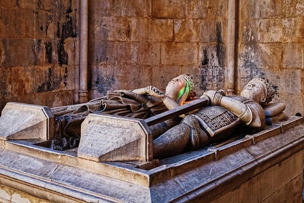 Photograph - Batalha Monastery Sarcophagus #2 - Portugal by Stuart Litoff