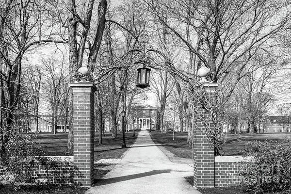 Photograph - Bates College Campus Gate by University Icons