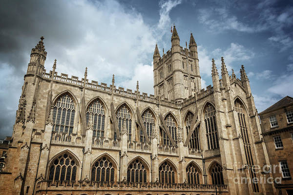 Abbey Photograph - Bath Abbey by Delphimages Photo Creations