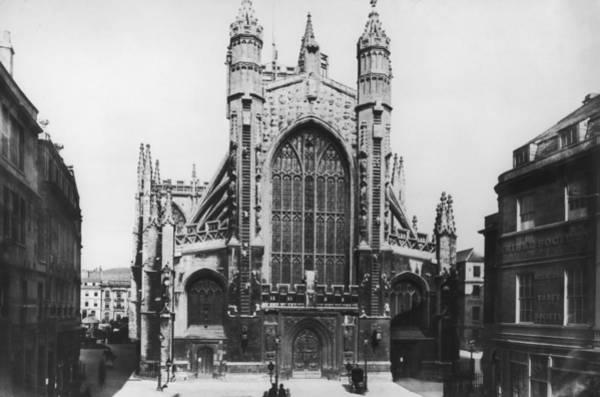 Bath Abbey Photograph - Bath Abbey by Hulton Archive