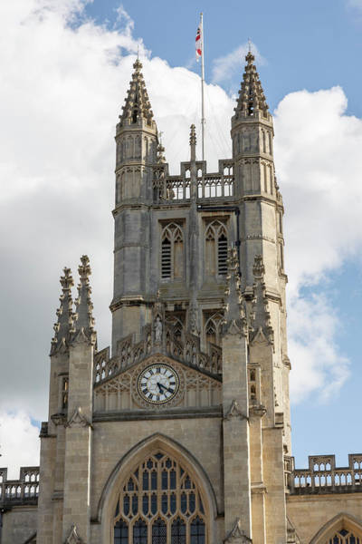 Wall Art - Photograph - Bath Abbey In The Uk  by John McGraw