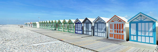 Wall Art - Photograph - Bathing Cabins On The Beach by Panoramic Images