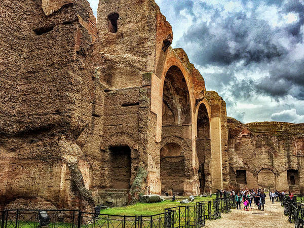 Photograph - Baths Of Caracalla by Joseph Yarbrough