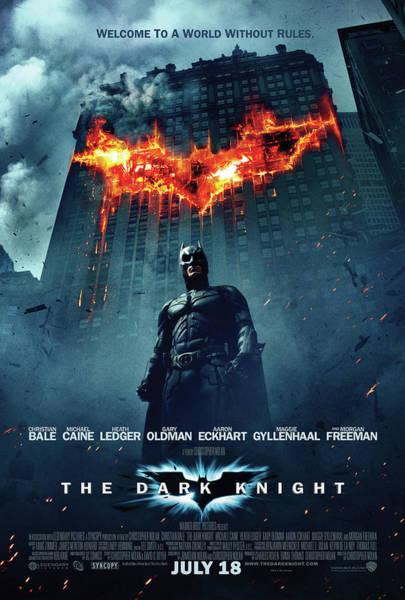 Robin Digital Art - Batman Dark Knight by Geek N Rock