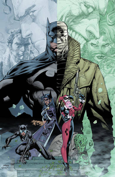 Wall Art - Digital Art - Batman Hush by Geek N Rock