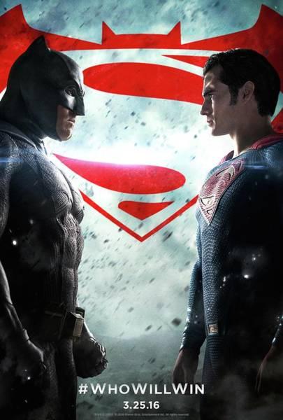 Supervillain Digital Art - Batman V Superman by Geek N Rock