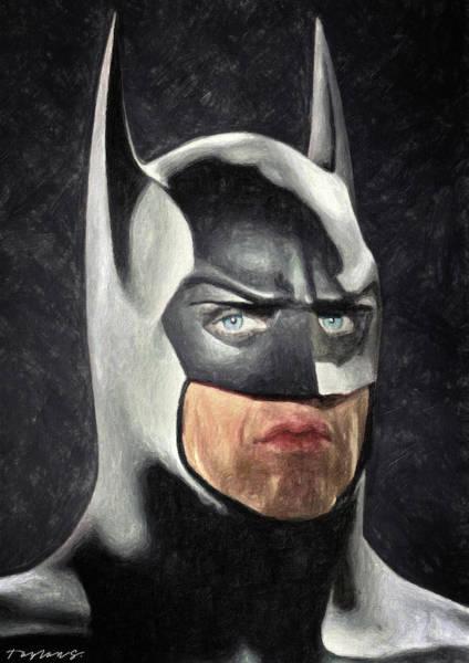Painting - Batman by Zapista Zapista
