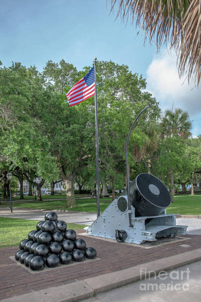 Photograph - Battery Cannon by Dale Powell