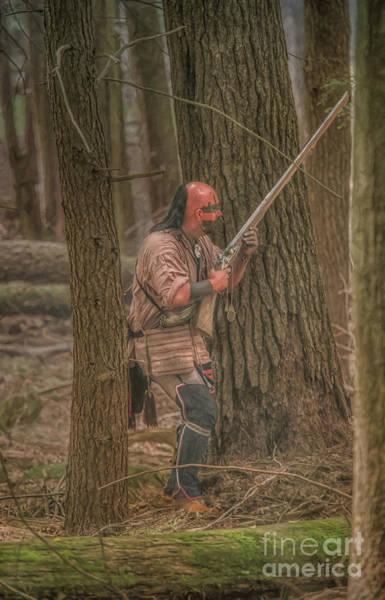 Wall Art - Digital Art - Battle In The Forest Of Cook by Randy Steele