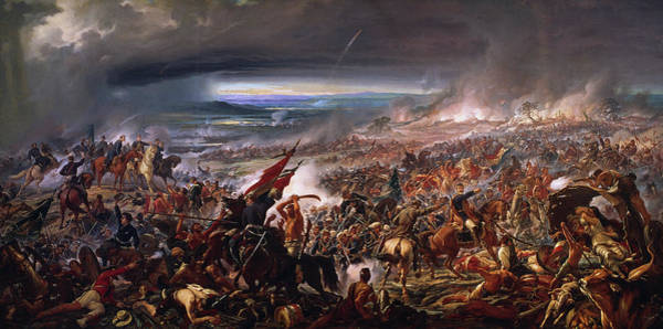 Infantryman Wall Art - Painting - Battle Of Avai, 1877 by Pedro Americo